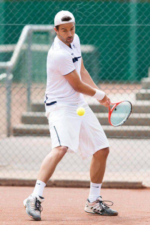 Stefan Bildstein hält bislang bei drei Siegen im Einzel.