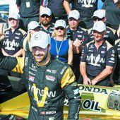 Hinchcliffe fuhr nach Crash in Indy Bestzeit