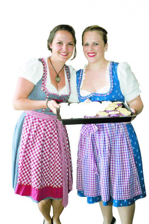 Süßes von Katrin Rümmele und Isabel Grabner.