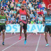 Bolt-Sieg mit schwacher Zeit