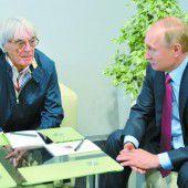 Formel 1 fährt in Russland so lange es Putin will