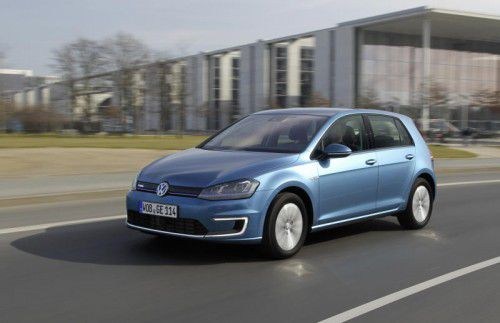Volkswagen will sein Angebot an elektrischen Modellen um drei weitere Fahrzeuge mit dem e-Golf ausbauen.