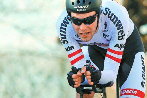 Zeigt beim Giro d'Italia Qualitäten: Georg Preidler.