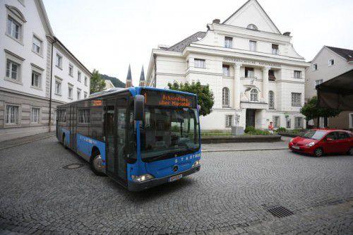 118.179 Fahrscheine weist die Bregenzer Stadtbus-Bilanz auf.