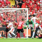 Schweiz feiert Sommer nach mühevollem 1:0