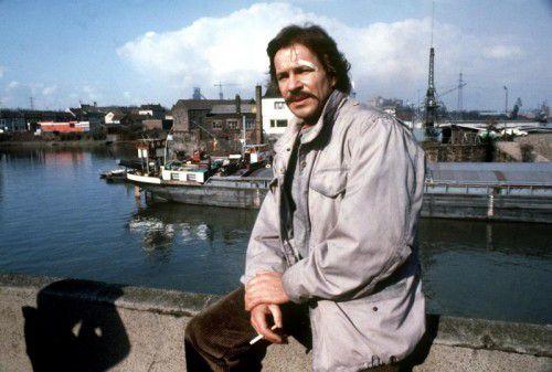 Als Tatort-Kommissar Schimanski wurde Götz George berühmt. Hier ein Szenenbild aus dem Jahr 1981.