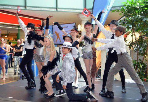 Am Freitag und Samstag ist auch auf der Uniqa-Bühne im Erdgeschoß des Messeparks einiges los.