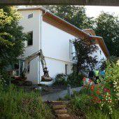 Jugendhaus in St. Arbogast  vor Fertigstellung