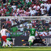 Polen feierte einen 1:0-Arbeitssieg