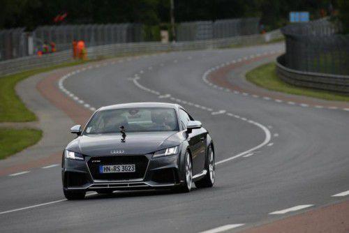 Audi bringt im Herbst den TT RS auf den Markt.