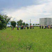 Verein Bodenfreiheit kauft in Lochau ein