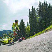 Contador beim Dauphiné-Start der Schnellste