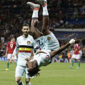 Belgien zurück in der Favoritenrolle
