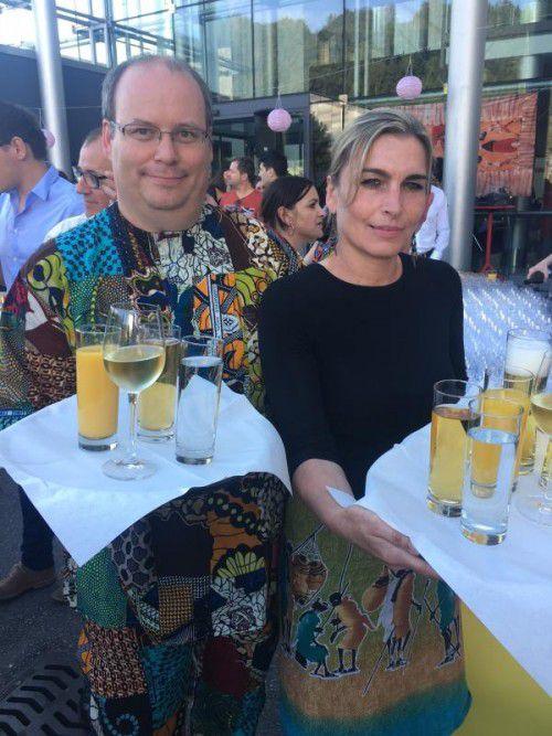 Christian Koppitz und Andrea Pichler.