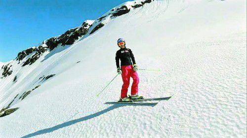 Comeback auf den Skiern: Anna Veith.