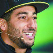 Alles wieder gut bei Ricciardo