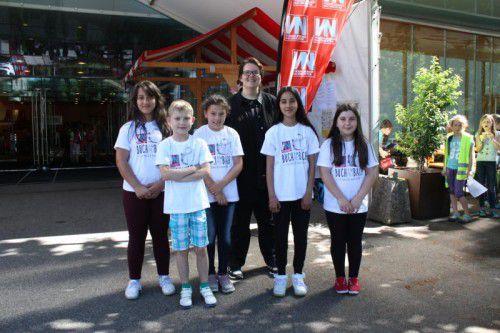 Das Interview mit Karin Ammerer führten die Kinderreporter Vanesa, Angelo, Miray, Ilayda und Zunaira aus Bregenz.