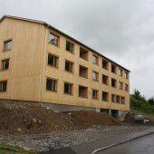 Lindohus in Lingenau wird im Oktober fertig