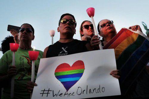 Das Orlando-Massaker sorgte weltweit für Entsetzen.