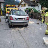 Unfall ruft Wehr auf den Plan