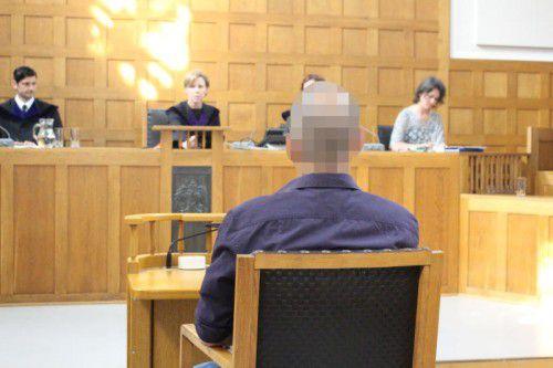 """Der 36-jährige Angeklagte bekannte sich vor dem Geschworenensenat am Landesgericht nur """"teilweise schuldig""""."""