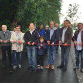 Neue Radwegpassage in Nüziders eröffnet