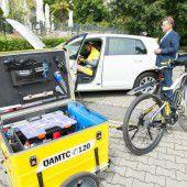 Der ÖAMTC hilft auch bei Fahrradpannen