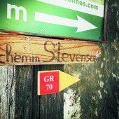 Auf Stevensons Spuren