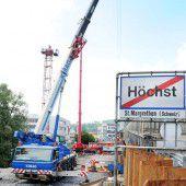 Grenzbrücke: Untergrund wird nun vorbereitet