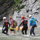 Gemeinsame Rettungsübung in der Frödisch