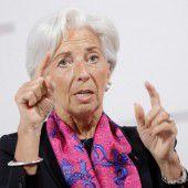 Lagarde betont Unterstützung für TTIP