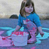 Bunte Straßen bringen Farbe nach Hohenems