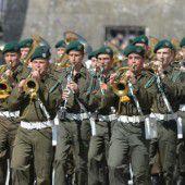 Die Militärmusik kehrt in alter Stärke wieder zurück