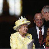 Gottesdienst für Queen, kleine Feier für Philip