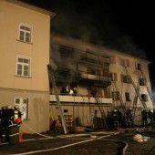 Todesrisiko bei Bränden trifft vor allem die älteren Menschen