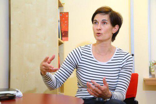 Die Sozialarbeiterin und Psychotherapeutin Sigrid Hämmerle-Fehr ist seit 1998 im IfS-Mühletor.
