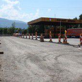 Mäders Zollplatz bereit für Grenzverkehr aus Lustenau