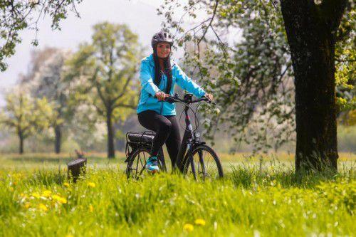 Die Stadt Bludenz will mit neuem Fahrradkonzept Akzente fürmehr Fahrradfreundlichkeit setzen. Symbolfoto: VN/Paulitsch