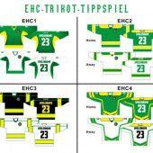 Welches Trikot trägt der EHC in der neuen AHL?