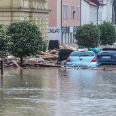 Noch keine Entwarnung in Hochwassergebieten