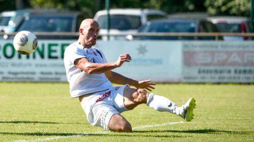 Beim FC Egg fungierte Jürgen Patocka (Bild) noch als Spielertrainer, zuletzt saß er beim FC Schlins auf der Bank.VN-Lerch