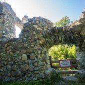 Ruine durch Spenden erhalten