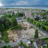 Fortschritte in Bregenz auf Böckle-Areal