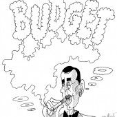 Humphrey Kern im Film Kassa Blanca!