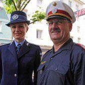 Rumänische Polizei in Vorarlberg
