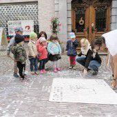 Kunst in der Bludenzer Altstadt fördert Geschichte zutage
