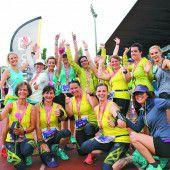 Erfolgreicher Auftritt für die Salomon-Ladys beim Frauenlauf