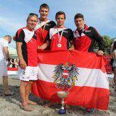 Silber und Bronze bei der Beach-WM
