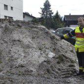 Schwerer Hagelsturm im Oberland