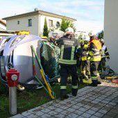 Schwerer Verkehrsunfall in Koblach